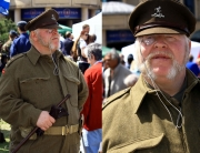 Appearing as Captain Square at the Armed Forces Day in Weston-super-Mare