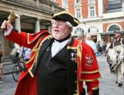 Leading the Covent Garden Rent Ceremony Procession