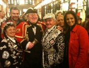 With the Pearly Kings and Queens