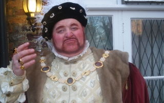 Where will you see Henry VIII this year?