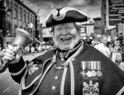 Alan Myatt Town Crier by Lee Crosbie