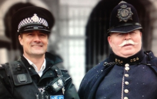 Victorian Policeman and the modern day version