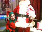 The Deluxe Father Christmas and Kieran the Elf