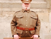 Alan's new WW1 uniform.
