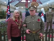 Alan Myatt in his WW1 uniform.