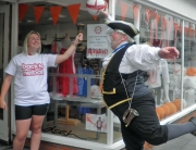 Alan Myatt taking part in FitFest