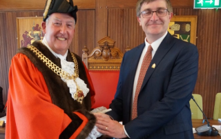 The new Mayor of Gloucester