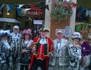 Alan with The Pearly Kings and Queens