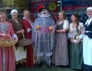 Alan as the Canterville Ghost