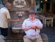 Alan Myatt on a city break in Rome