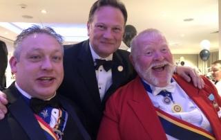 Alan at Glos Mayor's Charity Ball