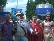 Alan at Gloucester Carnival 2018