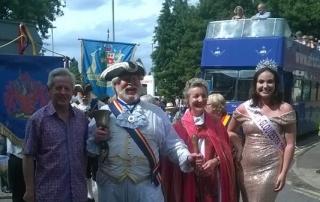 Alan at Gloucester Carnival 2018