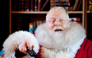 Alan as Deluxe Father Christmas