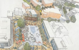 New plans for King's Square