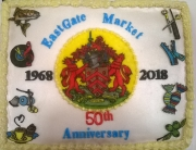 Eastgate Market's 50th birthday cake