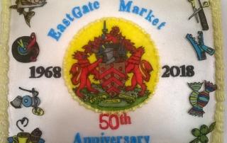 Eastgate Market's 50th birthday cake