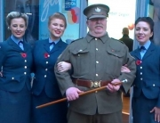 Alan at the Royal British Legion Poppy Appeal