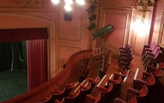 The Olympus Theatre in its current state