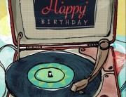 Happy Birthday Vinyl Vital Signs