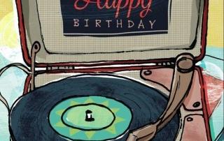 Happy Birthday Vinyl Vital Signs