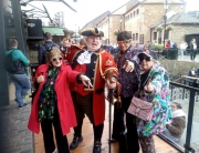 Alan and his friends at Camden Market