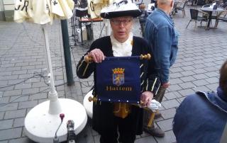 Pieter Schuijn, Dutch Town Crier