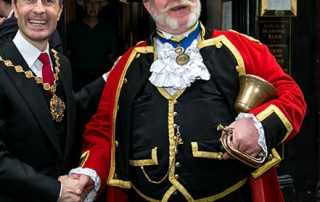Alan Myatt at the Covent Garden Rent Ceremony 2019