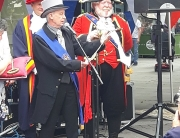 Alan Myatt at the Mock Mayor Making Ceremony 2019