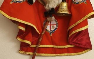 Alan Myatt's Town Criers uniform