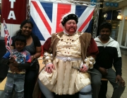 Alan Myatt as King Henry VIII