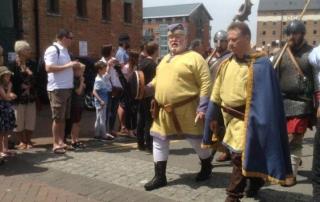Alan at the Warrior Queen re-enactment