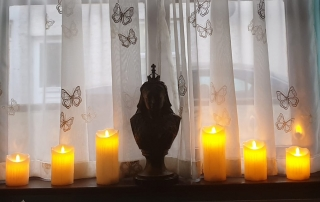 Candles lit to celebrate Florence Nightingale's birthday