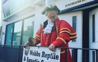 Alan at Webbs Pet Centre