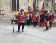 Alan at the medieval parade