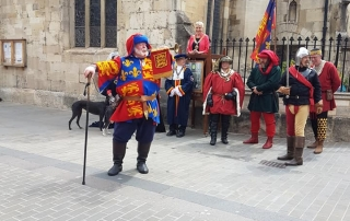 A top-secret parade to commemorate Queen Margaret of Anjou